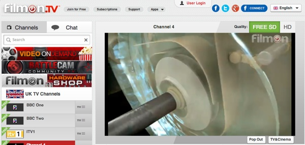 Streaming TV websites