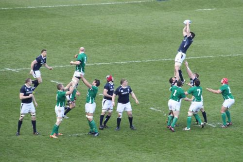 Lineout time !
